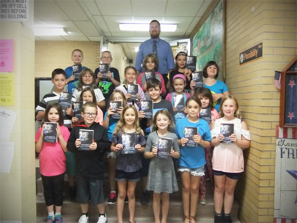 As a community service project, Watson Grange #1068 has donated dictionaries to the 3rd graders at the 						Tidioute Community Charter School.