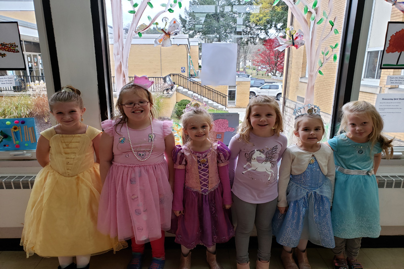 Princesses for Enchanted Forest Week