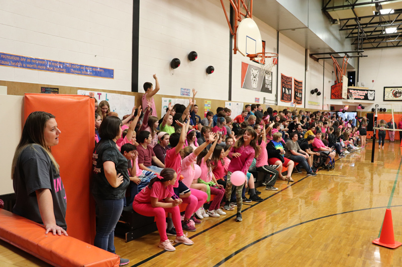 Pink Out Assembly